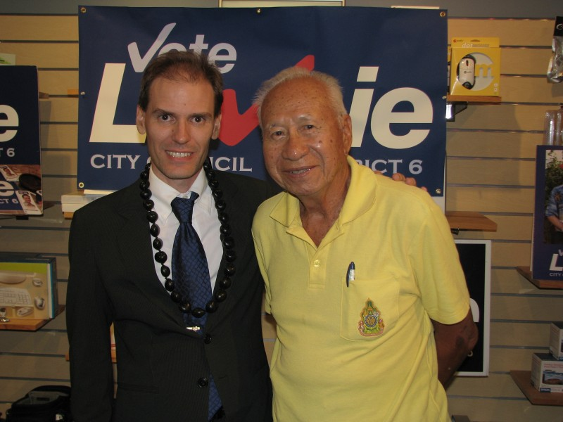 """Uncle Joe"" Young of Chinatown endorses Frank"